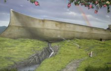 Artists representation of Noah's Ark, from the Creation Museum