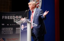 Donald Trump at the Citizens United Freedom Summit (Photo credit: Michael Vadon)