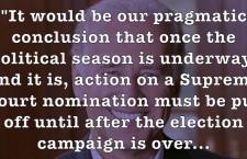 Can Senate Reject Obama's Supreme Court Nominee Garland?