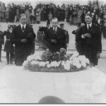 President Calvin Coolidge at the Tomb of the Unknowns, 1924