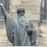 John Knox statue, New College Edinburgh (Photo credit: Kim Traynor)