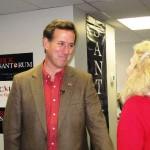 Rick Santorum on the Faith, Family and Freedom Tour (Photo credit: IowaPolitics.com)