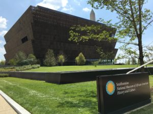 Smithsonian National Museum of African American History and Culture (Source: Wikimedia Commons)