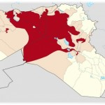 Territorial control of ISIS (Source: Wikimedia Commons)