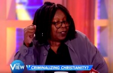 Whoopi Goldberg Says Christians Can't Work in Government