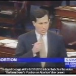 Santorum Exposes Pro-Abortion Illogic