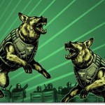 Twin Attack Dogs of the Left