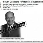 Latest South Dakota Primary RINO Exposed