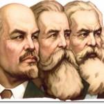 Lenin, Engels, Marx