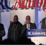 Leo Johnson, Charles Foster, Randy Burt and Tony Perkins