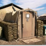 US Army Tent in Iraq (Source: Wikimedia Commons)
