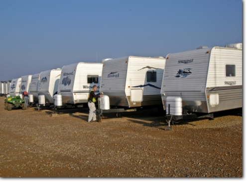 FEMA Trailers (Photo credit: Win Henderson)