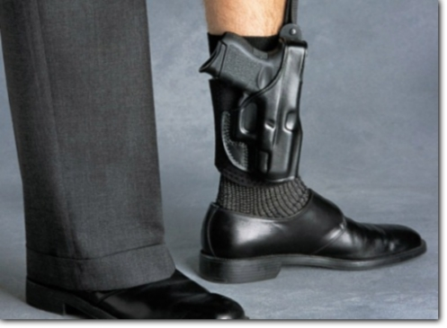 Ankle holster (From Lone Star Handguns)