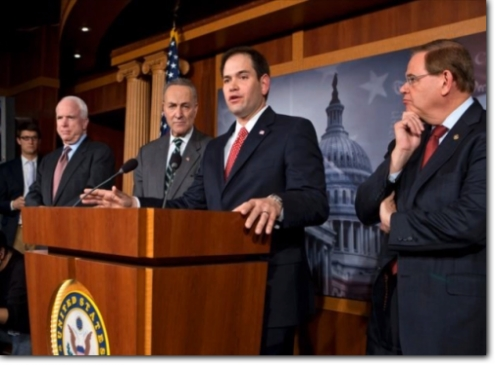 Pro-Amnesty Rubio Wants to be President