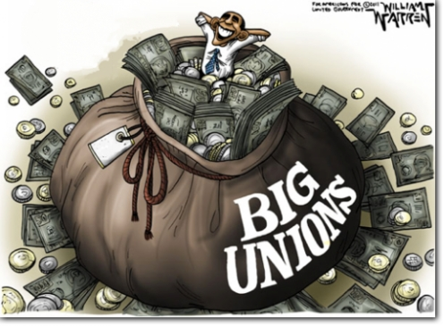 Government Unions and Democrats: Parties of the Rich