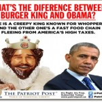 Burger King and How to Keep Jobs in America
