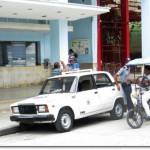 Police car in Cuba (Photo credit: Dick Elbers)