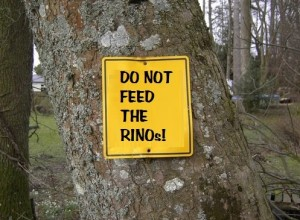 Do not feed the RINOs