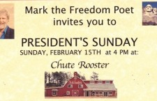 The Freedom Poet on President's Sunday