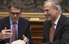 Rick Perry's gift to Texas' Governor-Elect…A Bible Verse?