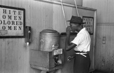 """Colored"" drinking fountain from 1939 Oklahoma"