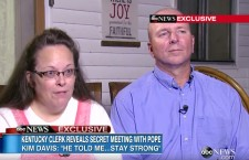 The Facts About Pope's Meeting With Kim Davis
