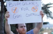 Burglars Call for Gun Control