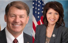 Senator Mike Rounds and South Dakota Rep. Kristi Noem (SD)