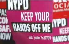"""From a """"Stop and Frisk"""" protest. (Photo credit: Thomas Good)"""