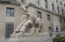 "Sculpture ""Man Controlling Trade"" outside the Federal Trade Commission building in Washington, DC  (Photo credit: Jerry Stratton)"