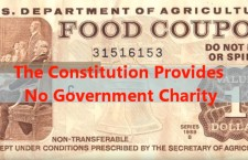 The Constitution Authorizes No Government Charity