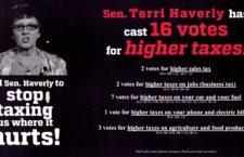 Terri Haverly: Raising Your Taxes