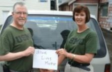 Kristen and Chris Lowder, who served as an Infantry Officer with the U.S. Marine Corps