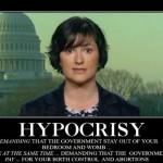 Hypocrisy: Look to the Left