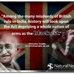 Gandhi on Guns