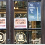 Entrance at EPA Headquarters, Washington D.C.