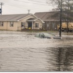 Hurricane Sandy flooding in Crisfield,  MD (Photo credit: National Guard)