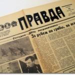 Soviet propaganda newspaper Pravda