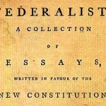 Title page of the first printing of the Federalist Papers.
