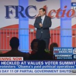 Leftists Infiltrate Values Voter Summit, Heckle Senator Cruz
