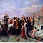 The First Thanksgiving by Jennie Brownscombe