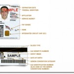 Common Access Card sample ((Source: http://www.cac.mil)