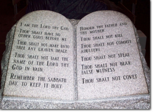 Alabama 10 Commandments Monument