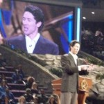 Joel Osteen at Lakewood Church, Houston, Texas (Photo credit: JG Howes)
