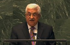 Palestinian President Mahmoud Abbas at the UN (Photo credit: Peter Fedynsky)