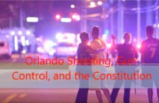 Orlando Shooting, Gun Control, and the Constitution: A 14 year Old's Perspective