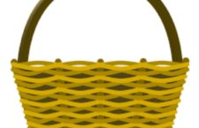 A-Tisket A-Tasket: Hillary's Green and Yellow Basket