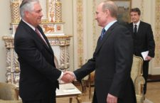 Prime Minister Vladimir Putin meets with Chairman and CEO of ExxonMobil Corporation Rex W. Tillerson (Source: Wikimedia Commons