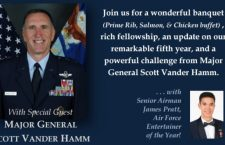 Maj Gen Vander Hamm to Address JWC ScholarShare