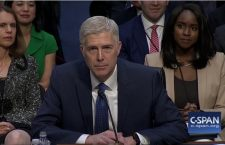 Neil Gorsuch from SCOTUS  hearings (CSPAN)